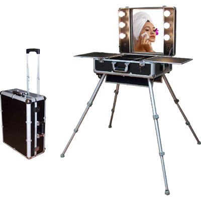 Maleta trolley tocador port til gipysb for Tocador profesional